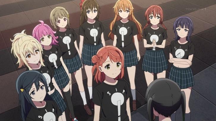 侑ちゃんと虹ヶ咲スクールアイドル同好会のメンバー