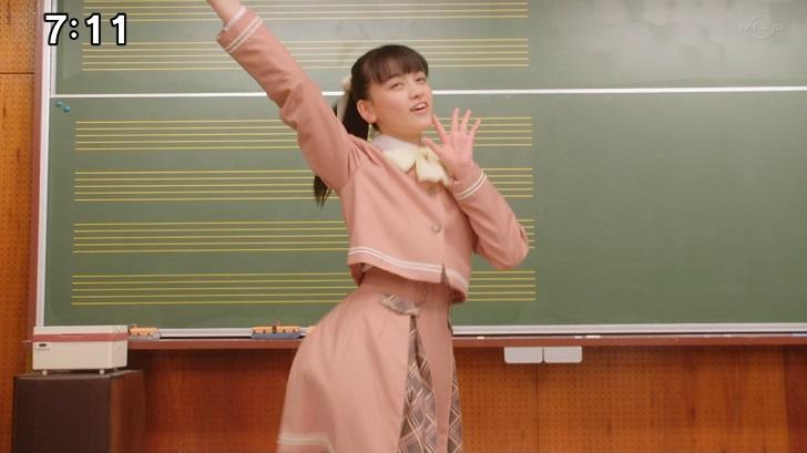 練習する音羽舞桜